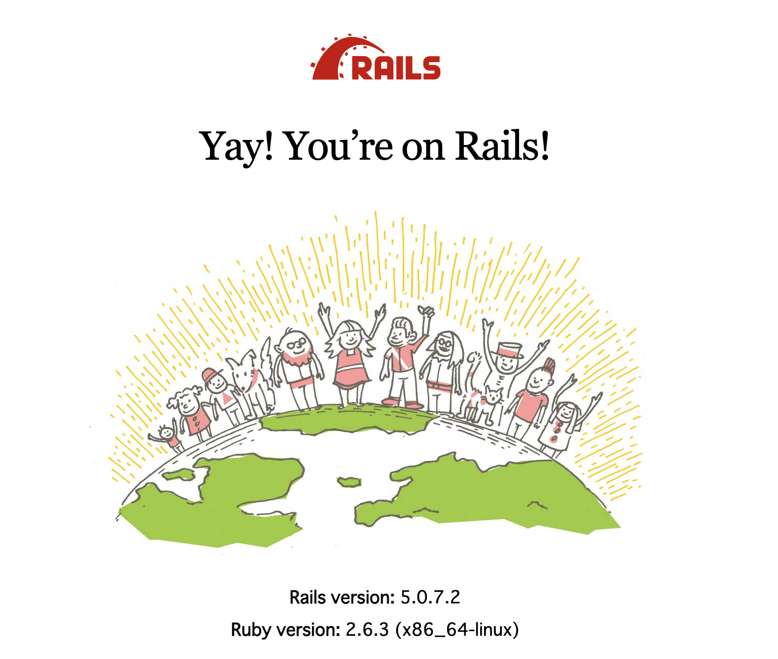 You're on Rails!